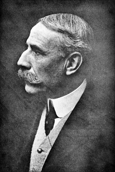 Elgar and his moustache in 1917