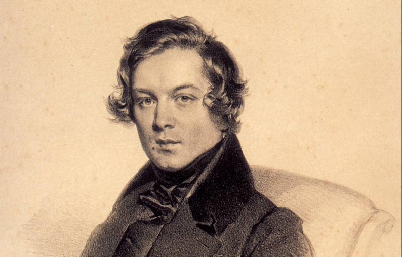 Robert Schumann- Composer, writer, ladies man, hard drinker and inventor of