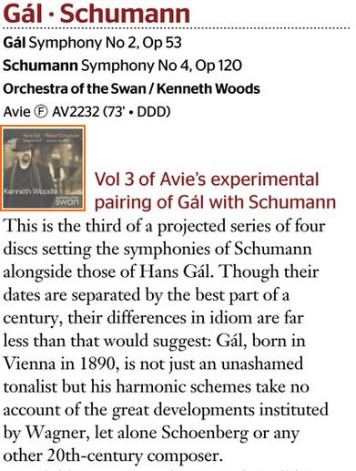 Gramophone Gal Schumann vol 3 pt 1