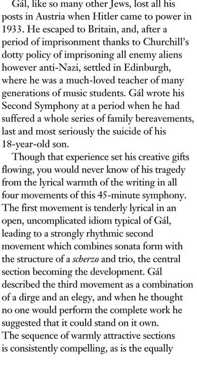 Gramophone Gal Schumann vol 3 pt 2
