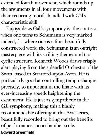 Gramophone Gal Schumann vol 3 pt 3
