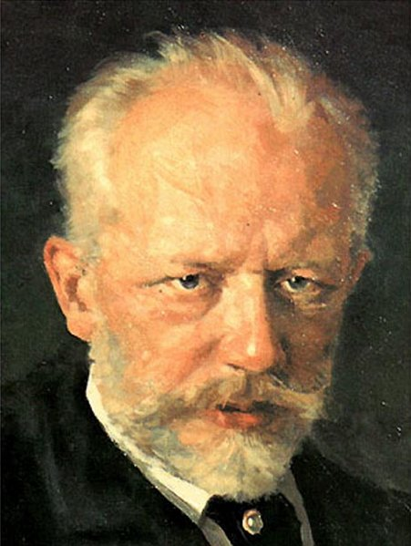 Tchaikovsky looking less than impressed with Rubinstein's reactions to the First Piano Concerto