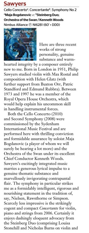 Sawyers Gramophone Oct 2014 1