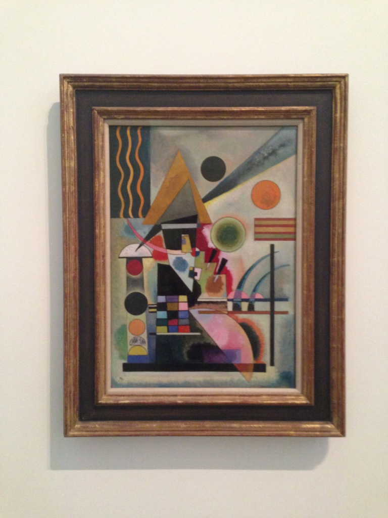 The first painting a ran into at the Tate Modern the other day. Looks wild, but check out those rectangles.