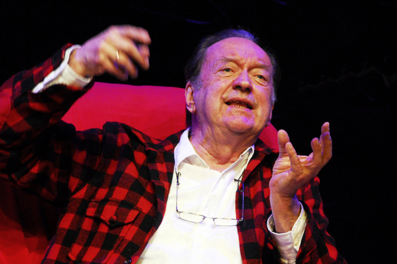 Cellist, conductor, visionary and lumberjack, Nikolaus Harnoncourt