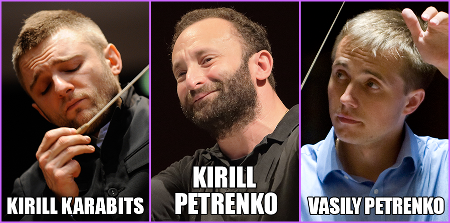 Neither most famous Kirill, nor the most famous Petrenko (via Sinfoni)