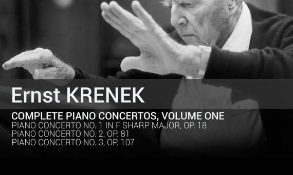 TOCC 0323 Krenek piano concertos Vol. 1 cover