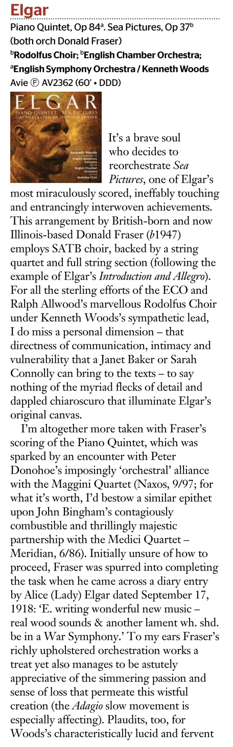 Gramophone Elgar July 2016 Part 1