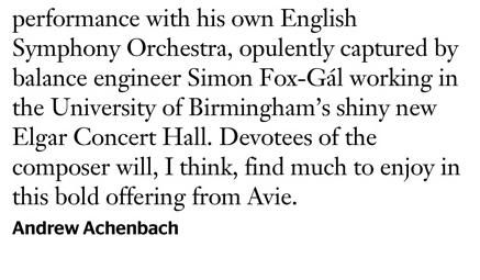 Gramophone Elgar July 2016 Part 2